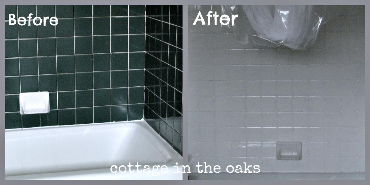 Before After Bath Tile Bath Makeover Tile Bathroom Tile