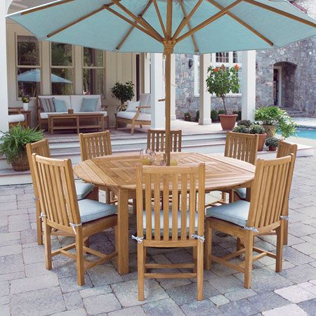 Teak Dining Tables Outdoor Dining Tables Country Casual Teak