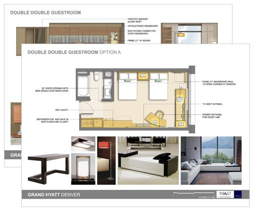 Interior design presentation techniques for Berkeley extension interior design