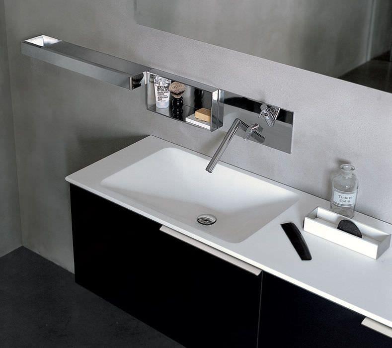 Doppelwaschbecken / Aufsatz / rechteckig / aus Keramik RASO by ... | {Doppelwaschbecken keramik 17}