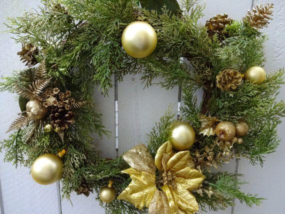 Christmas Wreath CLEARANCE SALE Elegant Holiday Wreath ...