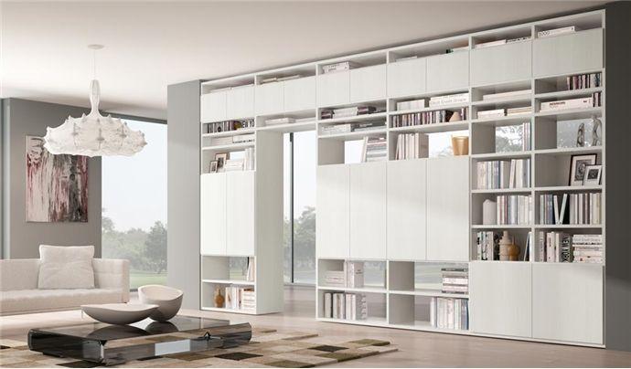 Libreria componibile a parete Systema-P | Houses nel 2019 ...