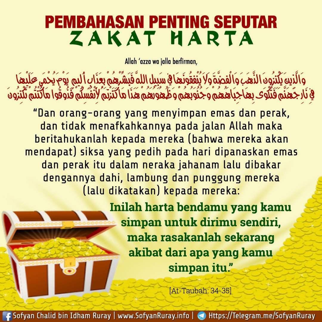 Zakat Harta Doa Islam Kutipan