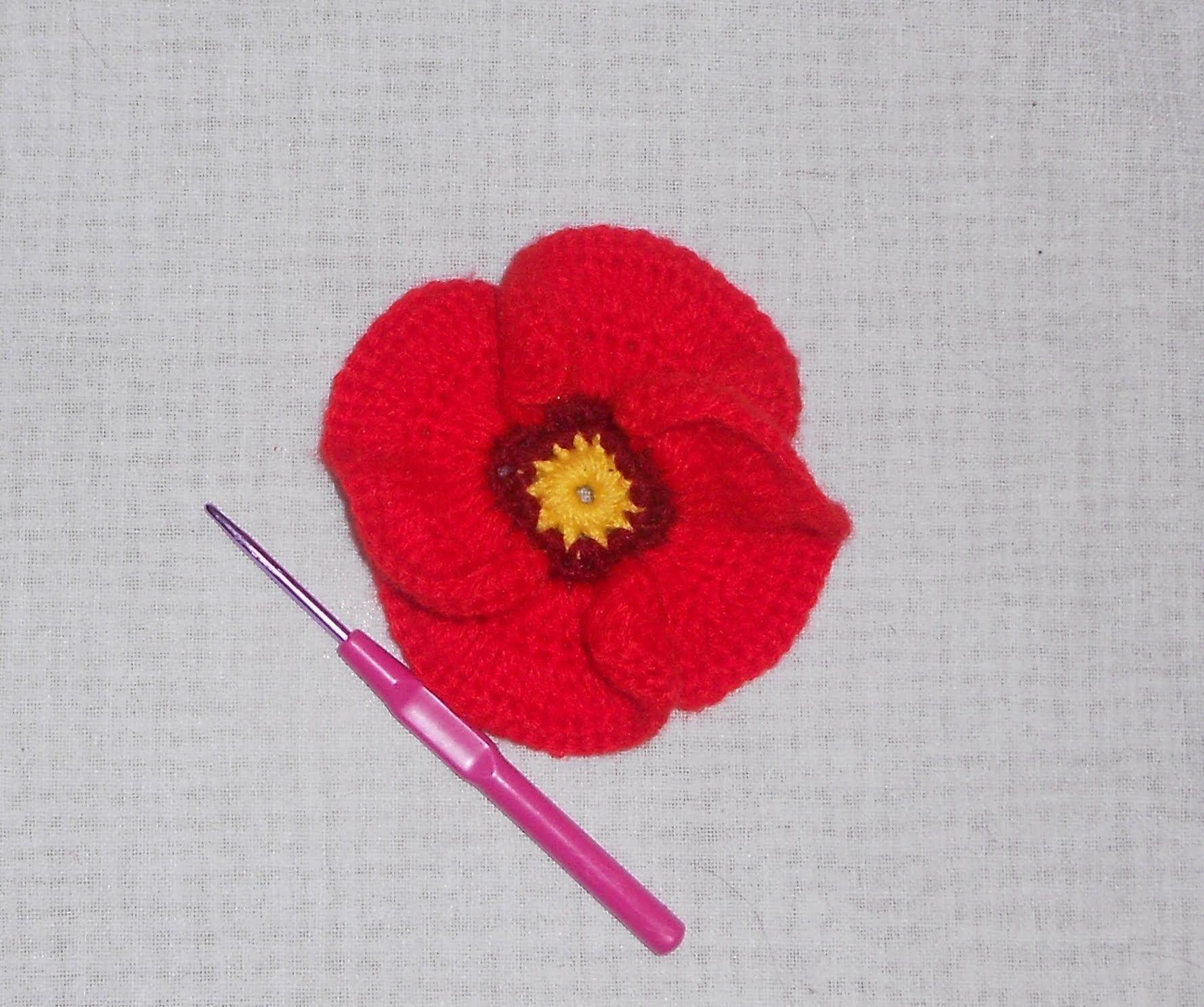 Uncinetto crochet fiore papavero crochet poppy flower ganchillo uncinetto crochet fiore papavero crochet poppy flower ganchillo izmirmasajfo