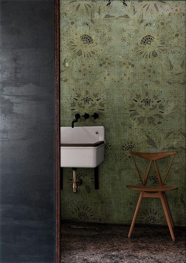 Motiv- Tapete fürs Badezimmer CARILLON Kollektion WET SYSTEM ™ 16 - bilder fürs badezimmer