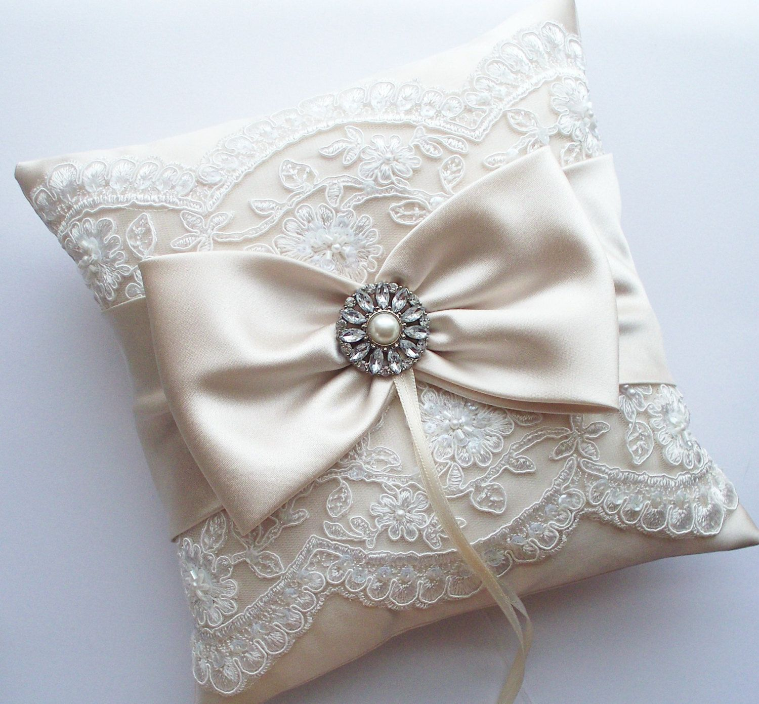 formal product the girl ring basket sequied fabric children pillow wedding put store in boy flower pillows supplies