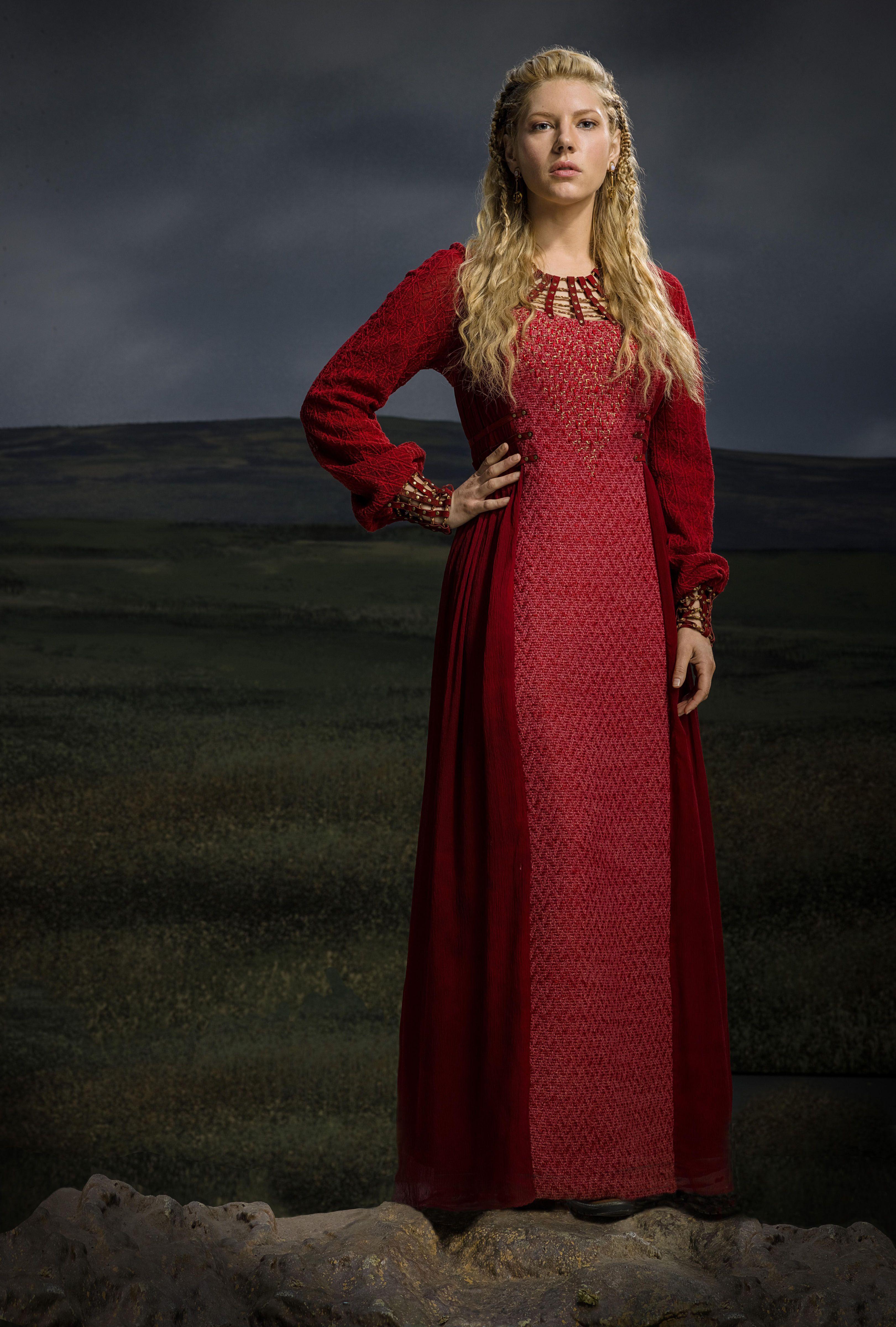 KatherynWinnick Lagertha Vikings HistoryChannel Season