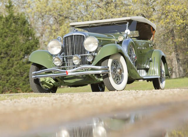 B 1932 Duesenberg Model J Tourster B Br Chassis No 2571 Br