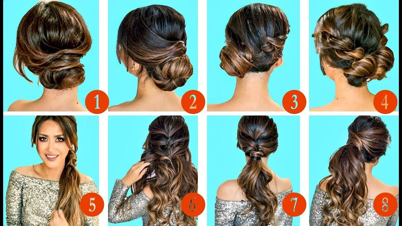 top greatest holiday hairstyles u updos with puff easy