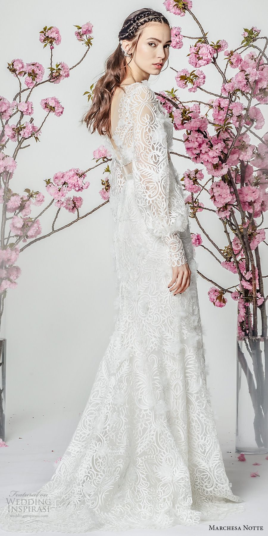 Marchesa notte spring wedding dresses fit and flare