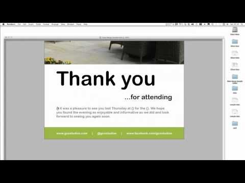 InDesign CS6 Advanced Tutorial: How to personalise a