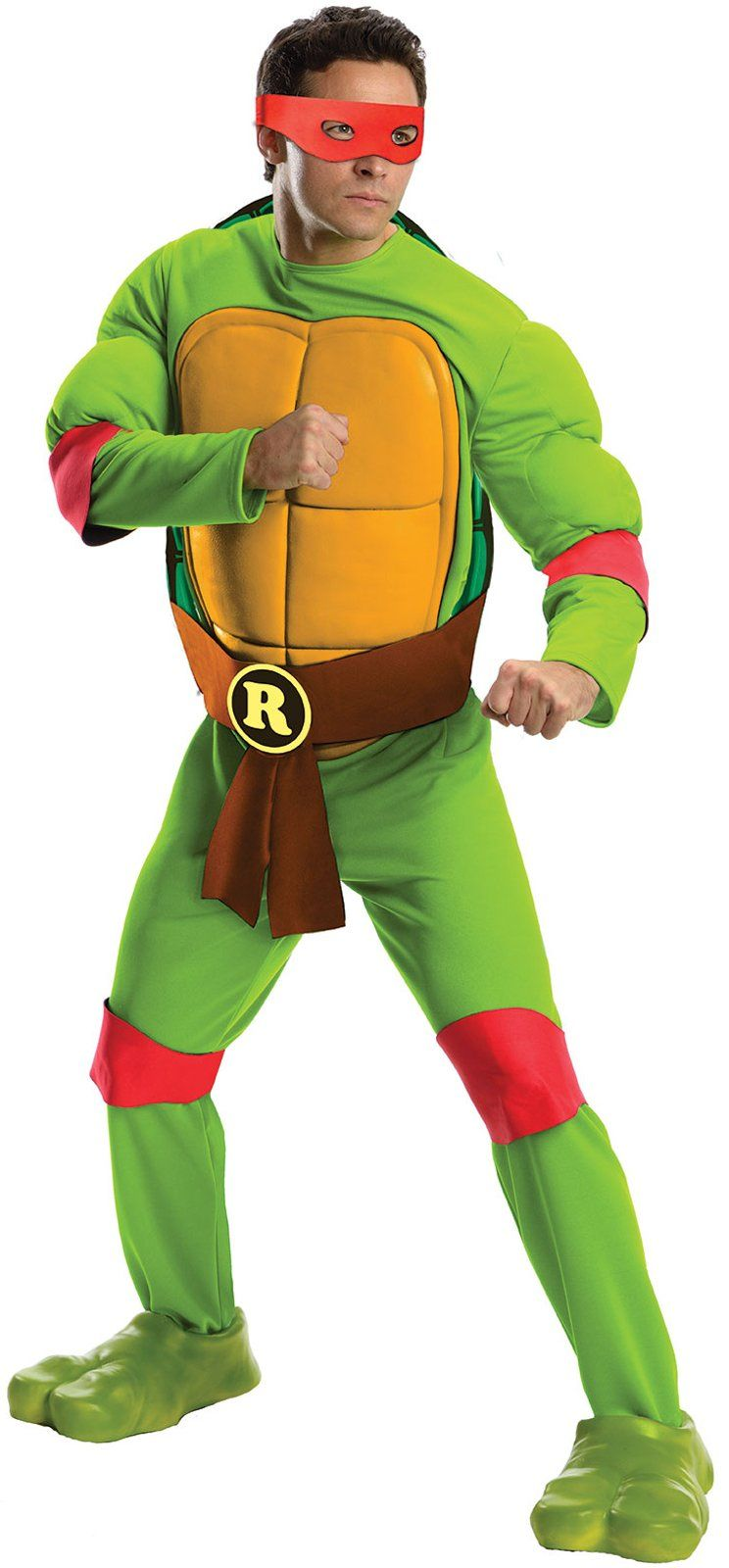 24beac7651f Mens Deluxe Raphael Costume | Costumes | Turtle costumes, Ninja ...