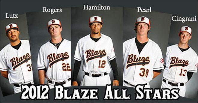Blaze Baseball Minor League Baseball Baseball All Star