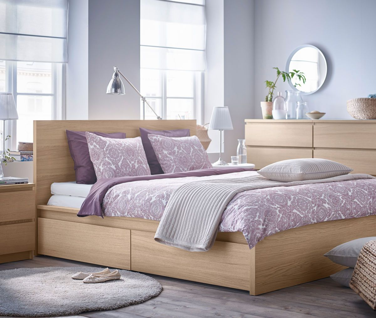 IKEA Bedroom Brochure 2017 Malm bed frame, High bed