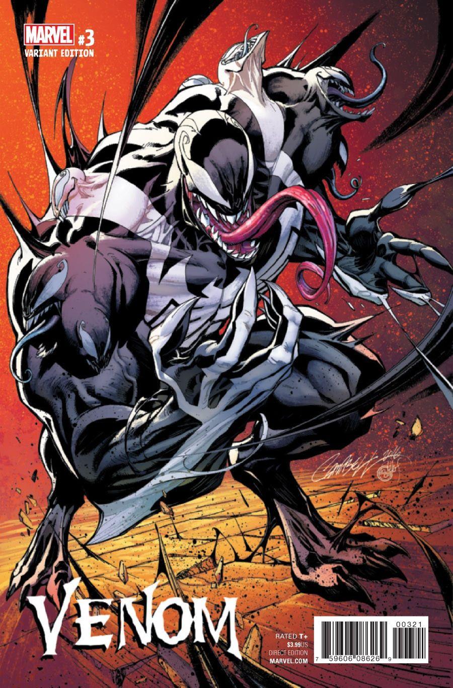 Venom #Fan #Art  (Venom Vol 3 #3 Variant Cover) By: J  Scott
