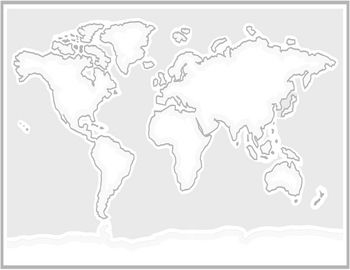 Print out this world map to create a continent map print it out and print out this world map to create a continent map print it out and trace gumiabroncs Gallery