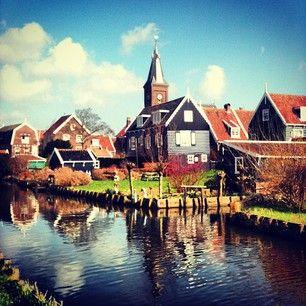 Yesterday at Marken Island, Holland