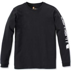 Photo of Carhartt Workwear Logo Damen Long Sleeve Shirt Schwarz M CarharttCarhartt