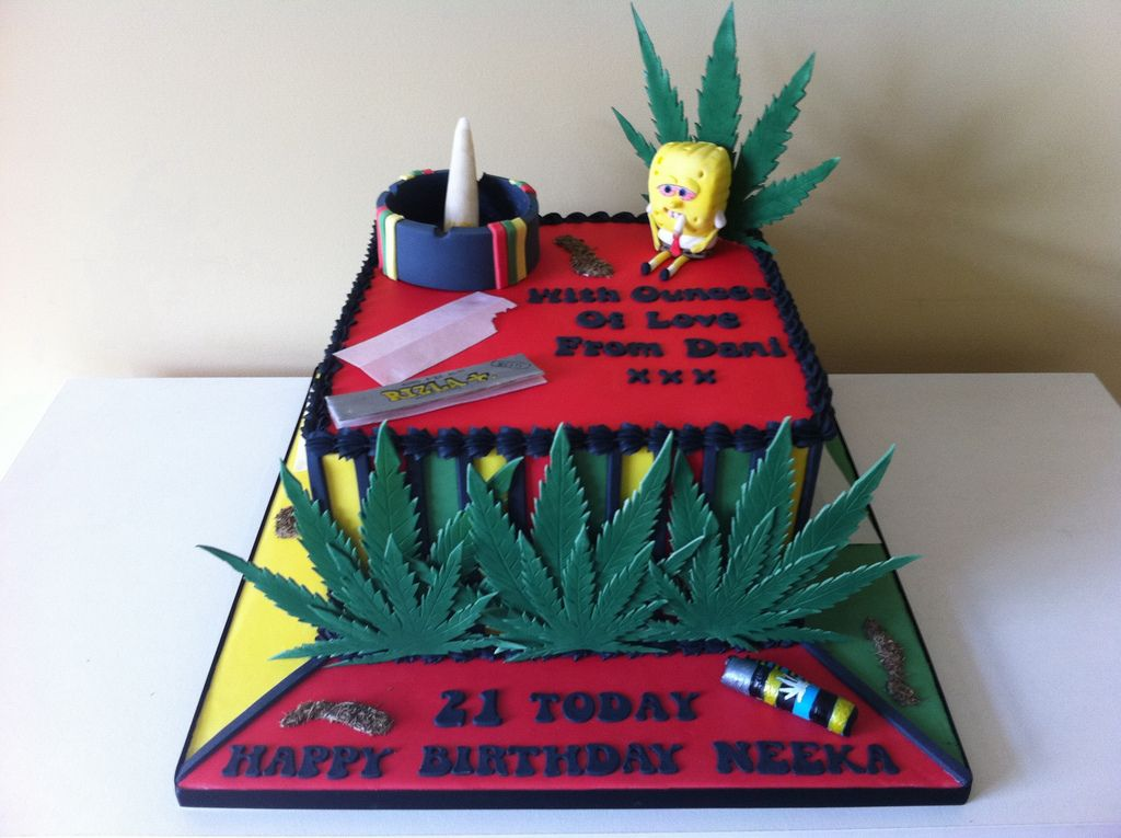 Spliff cake Cake and Funny cake