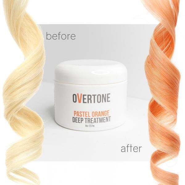 Pastel Orange Complete System With Images Peach Hair Colors