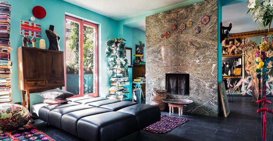 Bilocale eclettico a milano interior design per la casa for Arredamento casa milano e provincia