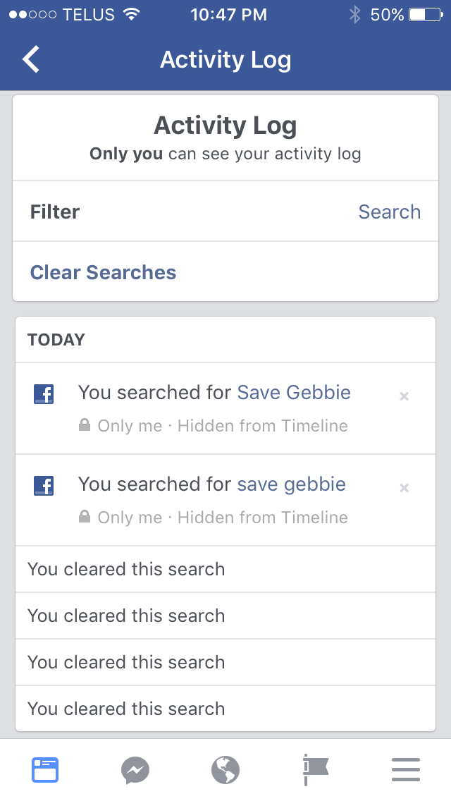 Editable Search Recently Viewed Icons Delete Facebook Delete Facebook Search Ux Design