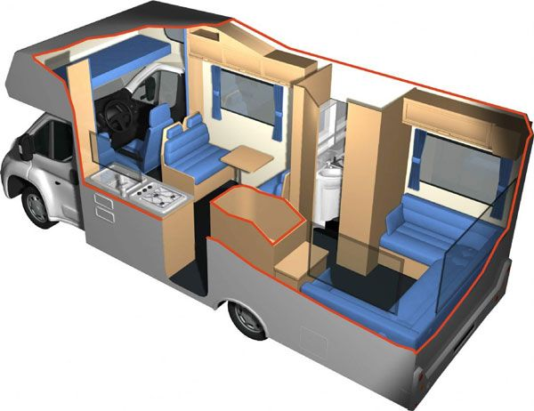 Motorhome, Rv, Caravan Van, Camper, Caravan, Single Wide, Mobile Homes