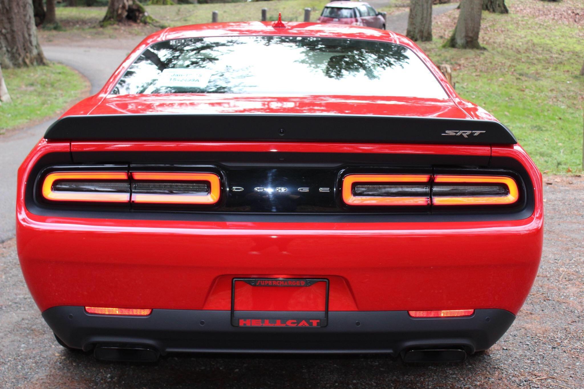 What Are You All Using For License Plate Frames Srt Hellcat Forum Dodge Hellcat Srt Pinterest
