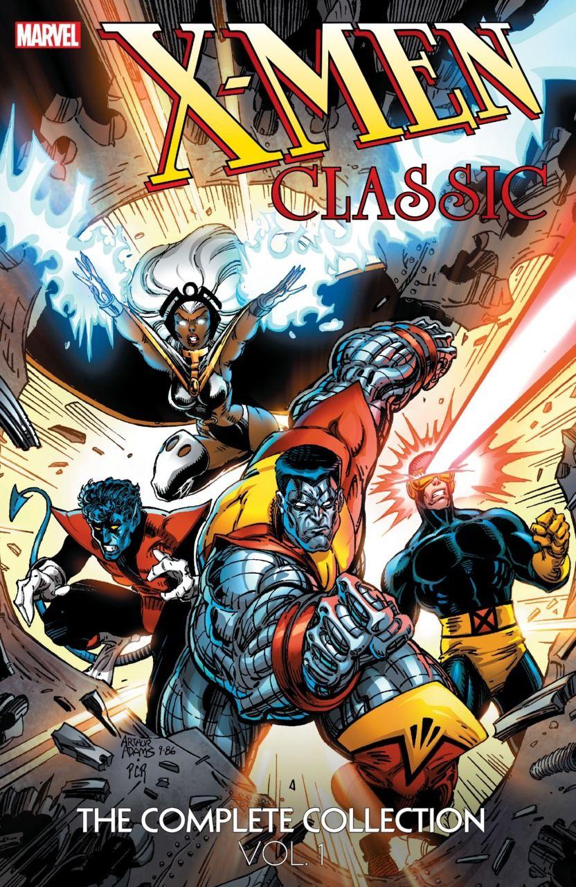 X Men Classic The Complete Collection 1 Volume 1 Issue X Men Marvel Xmen Marvel