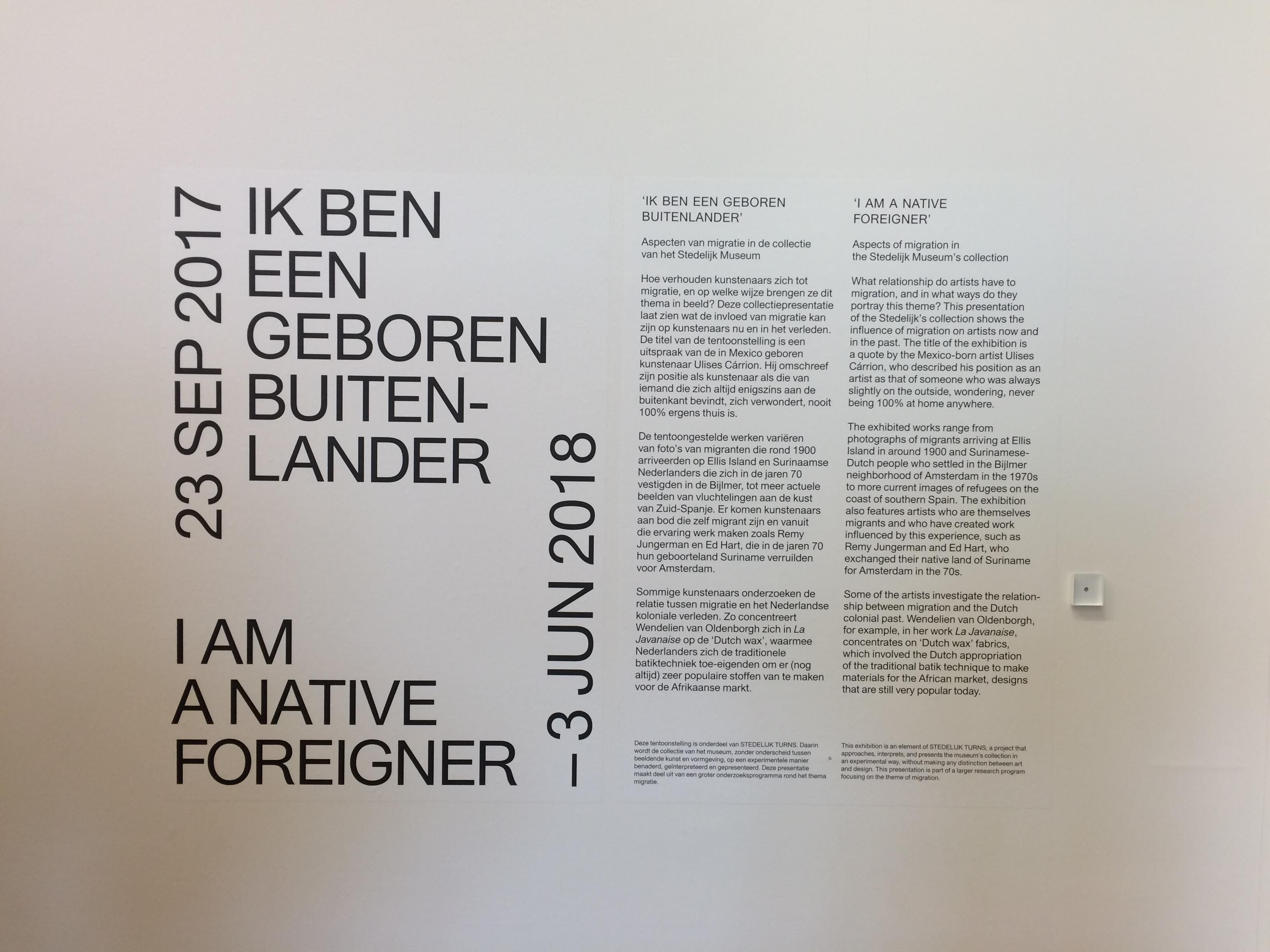 Wayfinding From The Stedelijk Museum Amsterdam