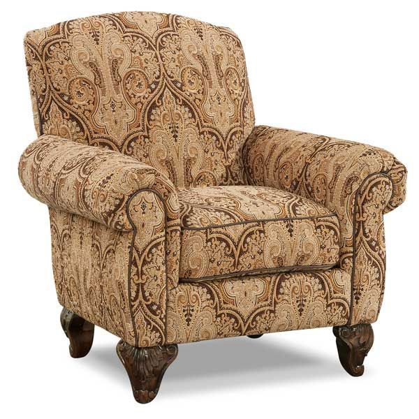 Glasgow Tapestry Accent Chair G 78AC