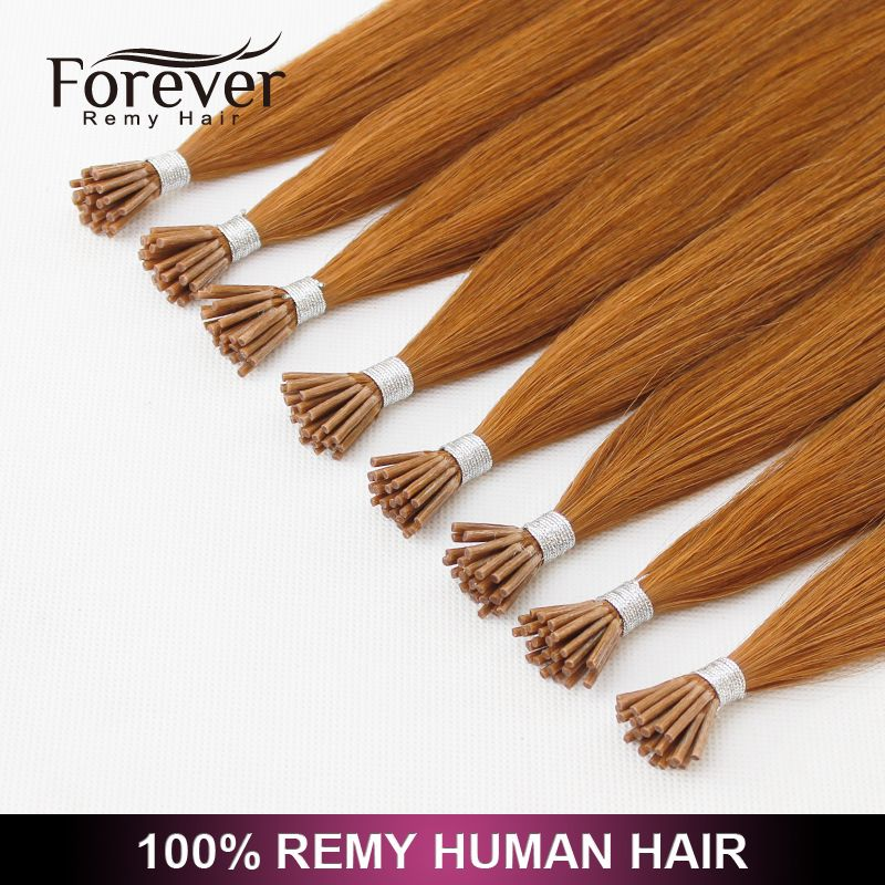 European Wholesale Italy Keratin Hair Double Drawn 100 Remy Human