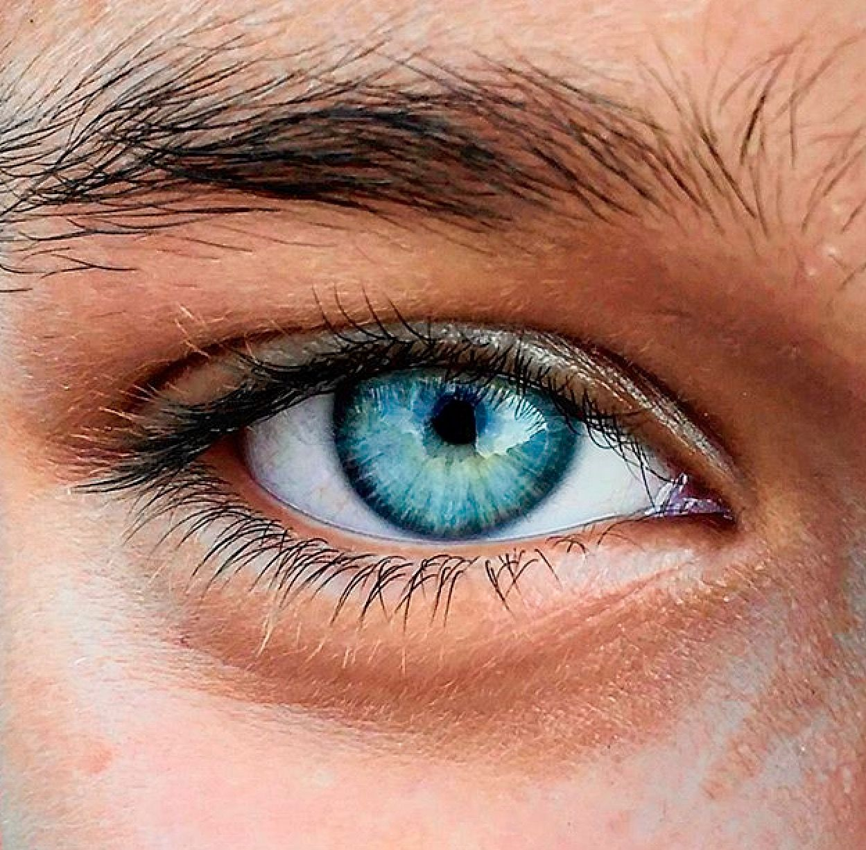 Grass Into The Ocean Aesthetic Eyes Beautiful Eyes Color