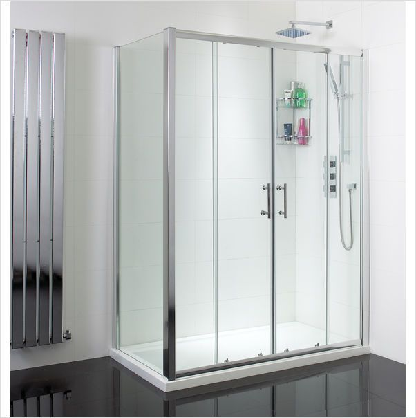 Considering Replacing A Bath With A Shower Enclosure? This 1500x700 Shower  Enclosure And Tray Is