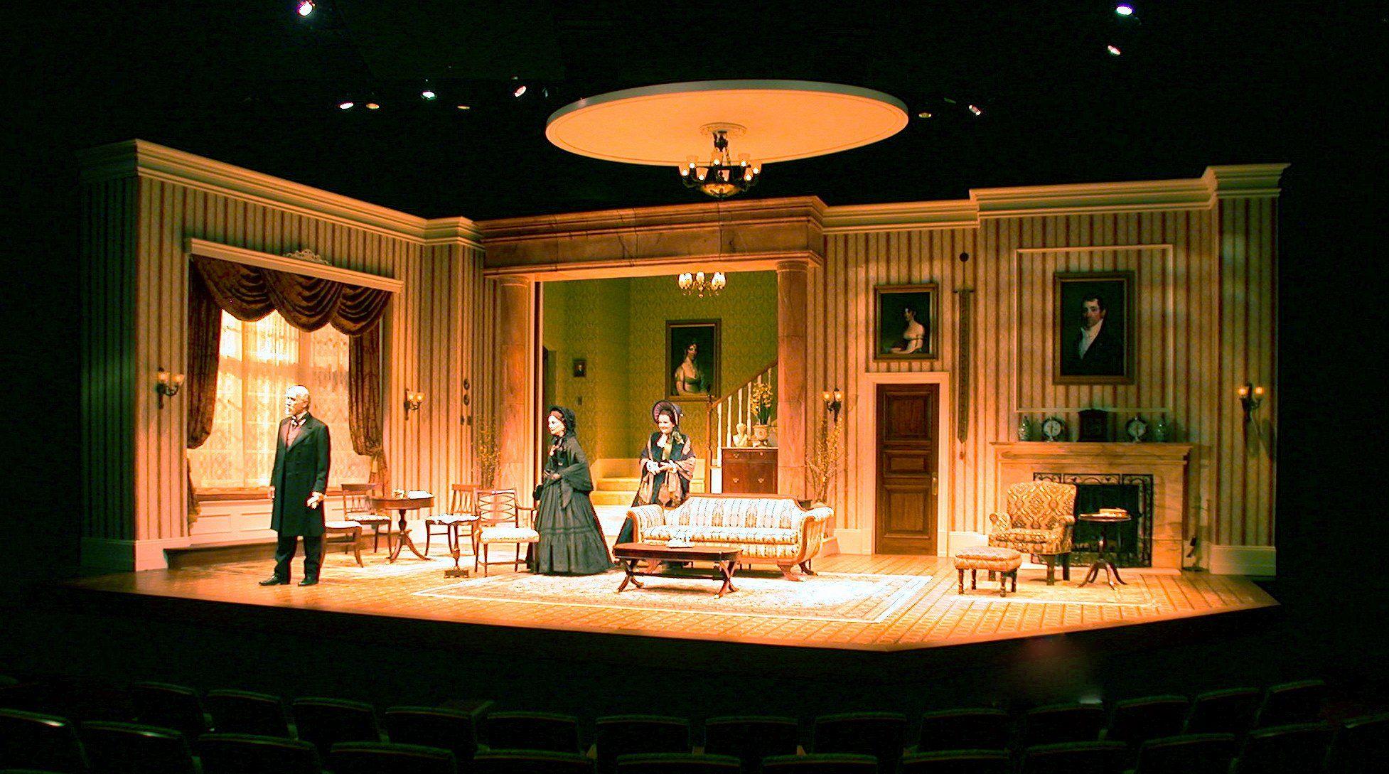 The Prolific Career Of Scenic Designer Tom Buderwitz This Stage Scenic Design Set Design Theatre Set Design