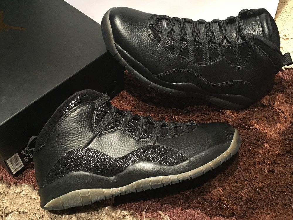 air jordan 10 ovo black ebay fly tying