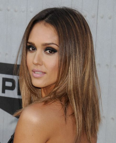 Actress Jessica Alba Arrives At The Los Angeles Screening Of