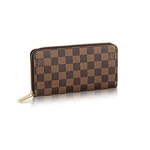 88d2826160f4 ... best wallets for women! Authentic  Louis  Vuitton Damier Zippy  Wallet  Article  N60015 Full review at