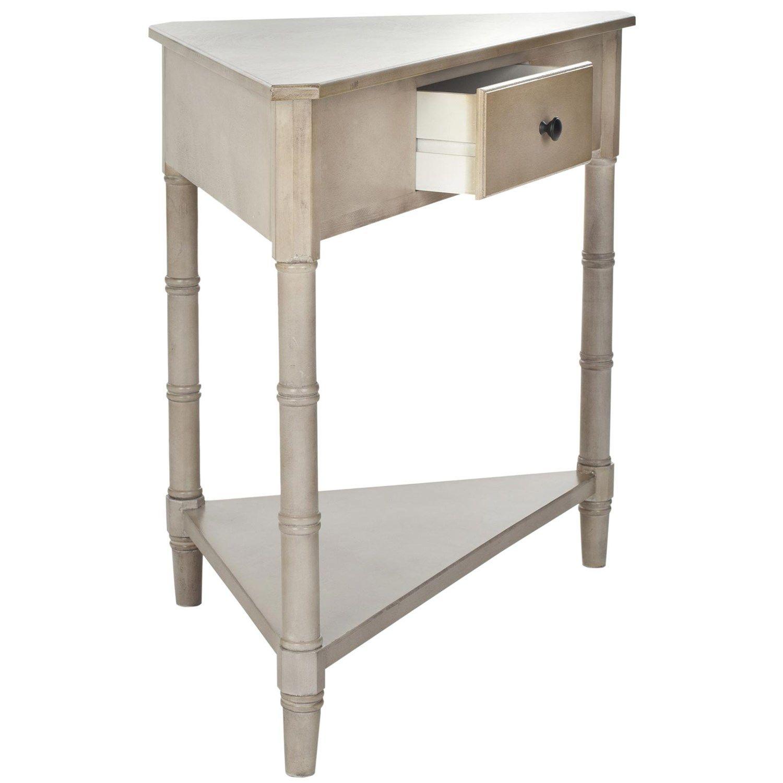 Safavieh Amh5709 Corner Table Safavieh Furniture Corner Accent Table