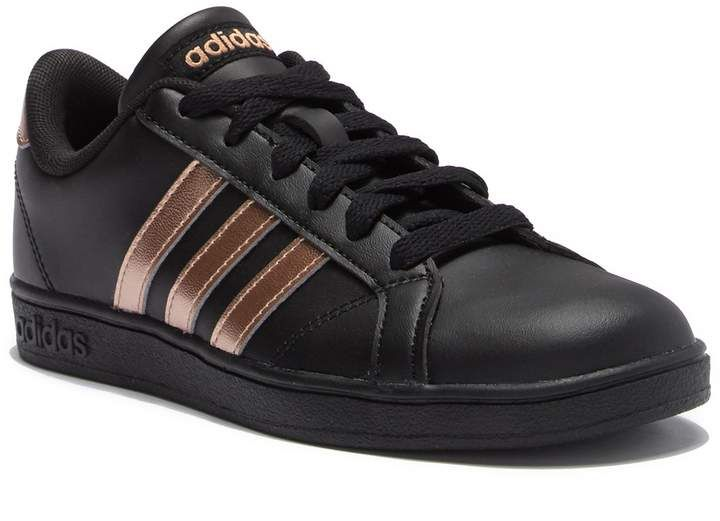 adidas Baseline K Leather Sneaker (Little Kid & Big Kid) title =   Baseline K Leather Sneaker (Little Kid & Big Kid  Baseline K Leather Sneaker (Little Kid & Big Kid)          Products