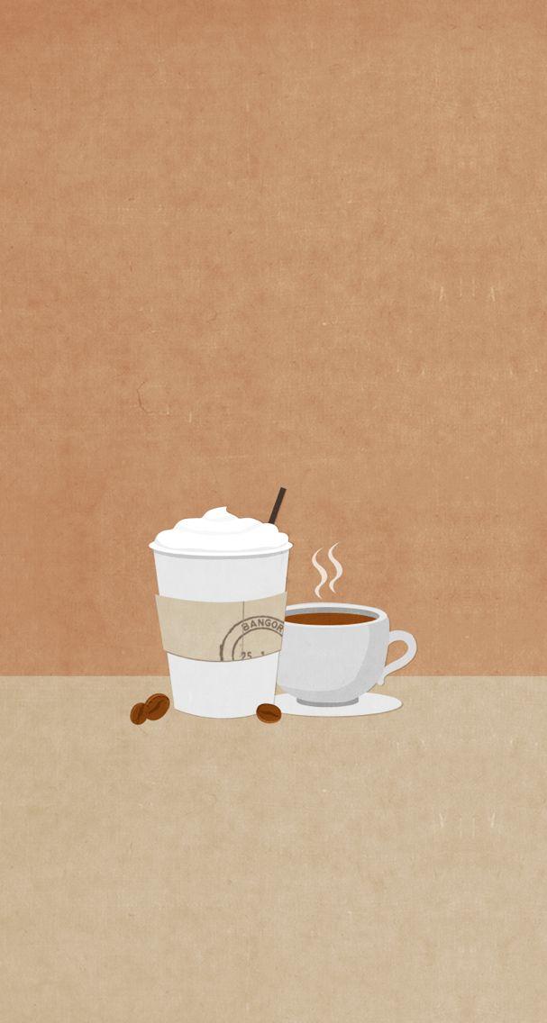 Split screen coffee tea wallpaper wallpapers pinterest - Cute coffee wallpaper ...