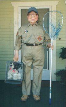 Matt's dog catcher idea | Zombie costume, Kids costumes ...