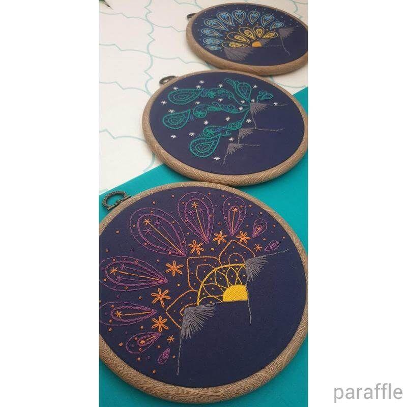 Photo of Sunset Embroidery Pattern