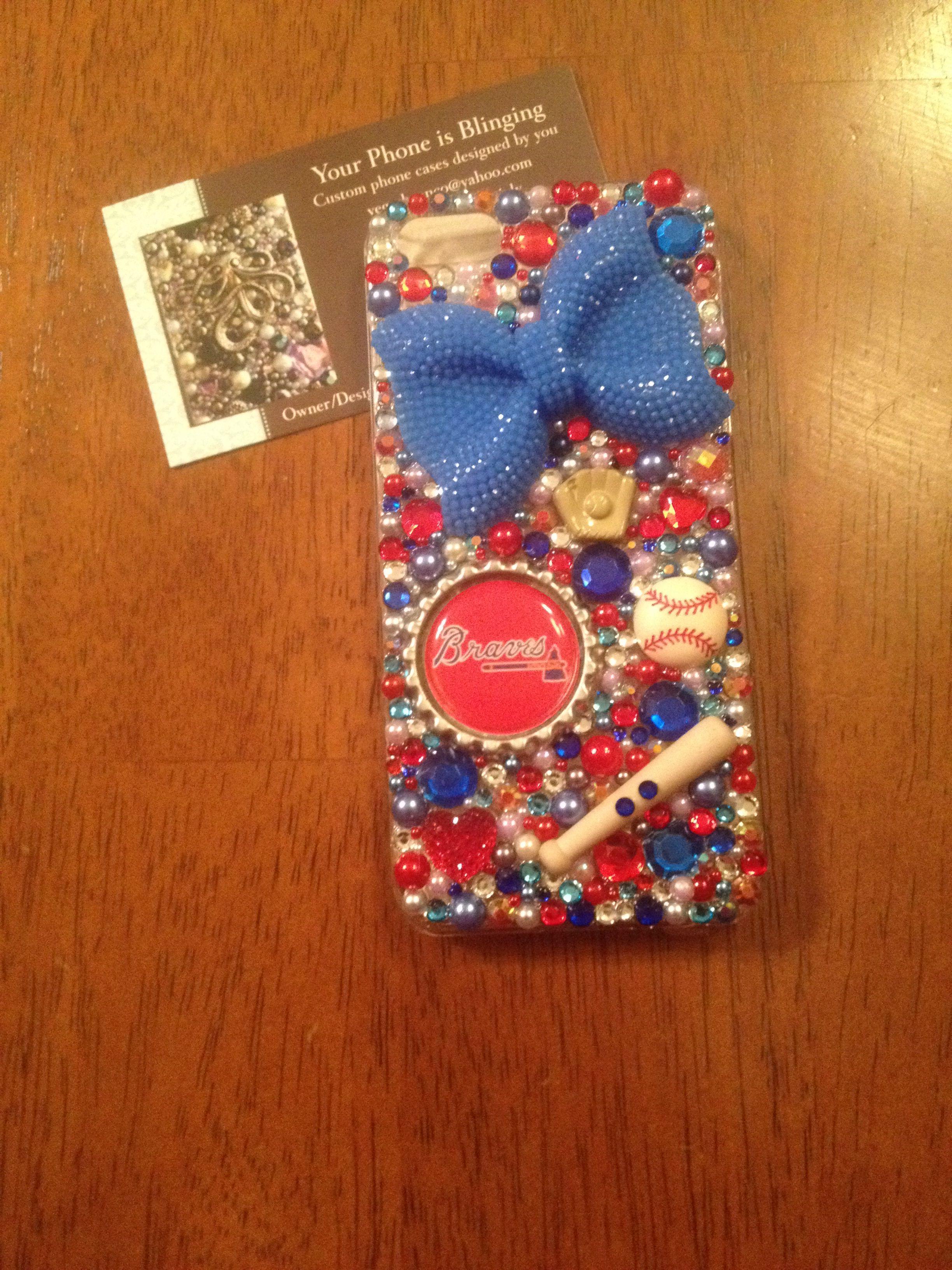 Atlanta Braves iPhone 5 custom cell case ! I can make any