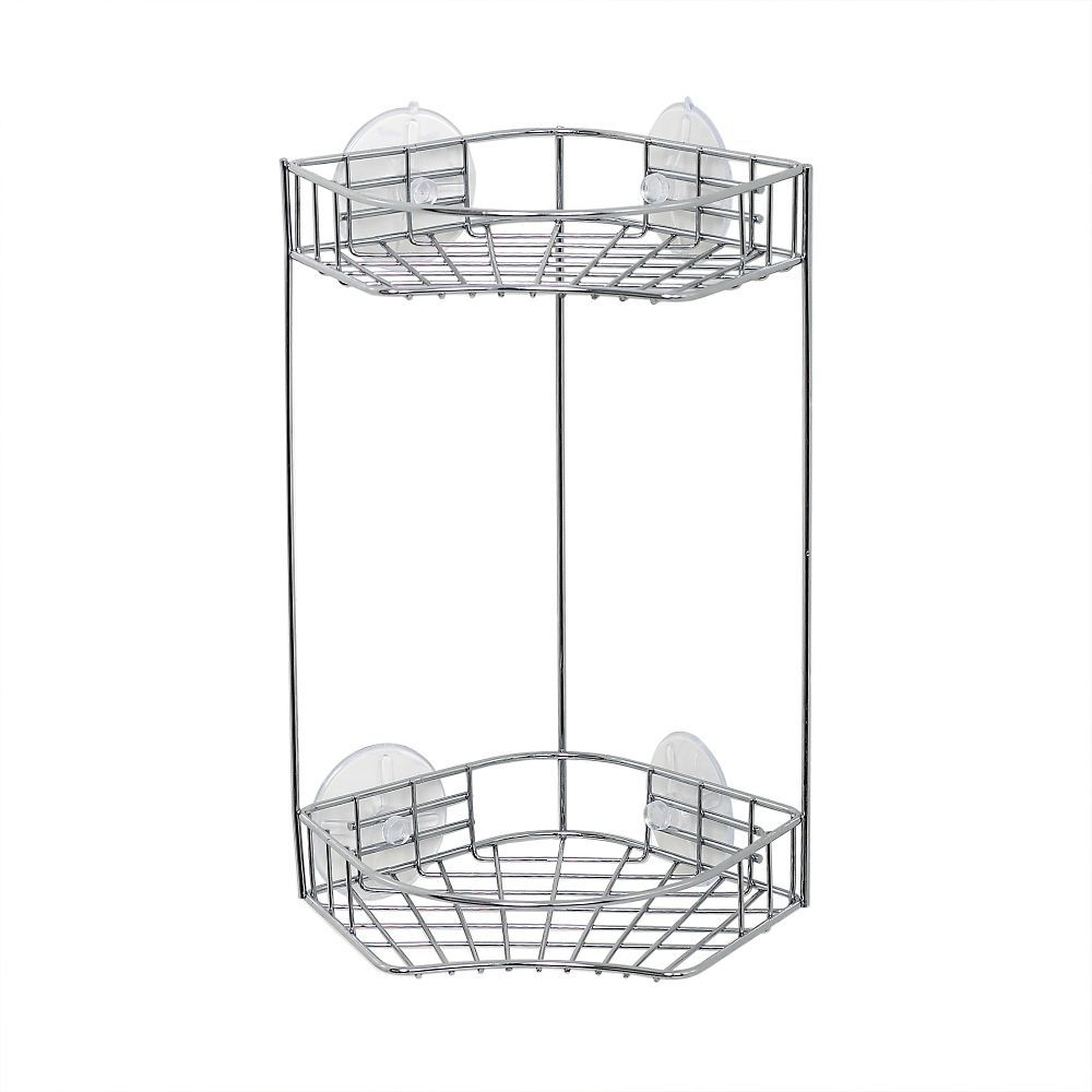 Corner Caddy With 2 Shelves Chrome Corner Shower Caddy Shower