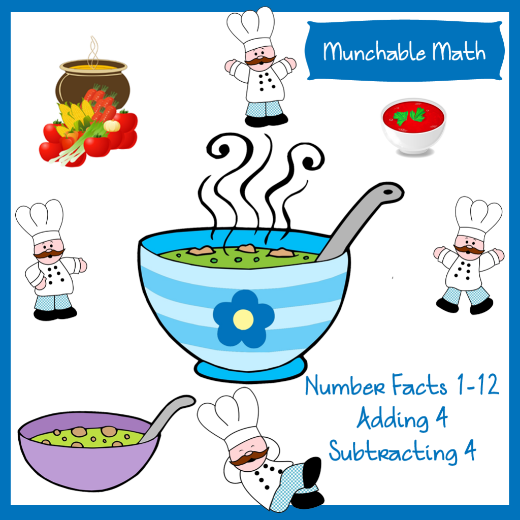 Come And Download Your Free Elementary Munchable Math