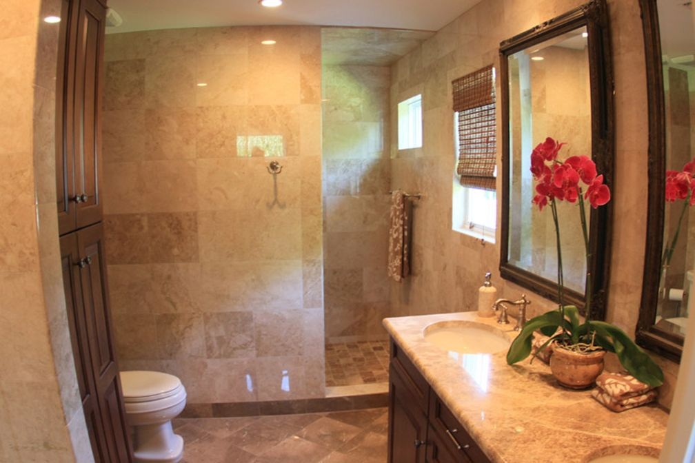 Bathrooms With Walk In Showers Design Winter Park Florida