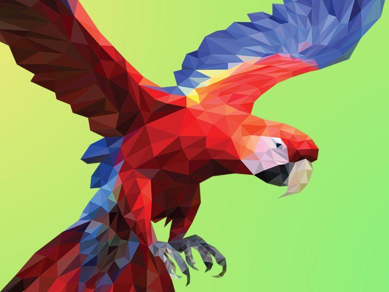 Poly Macaw