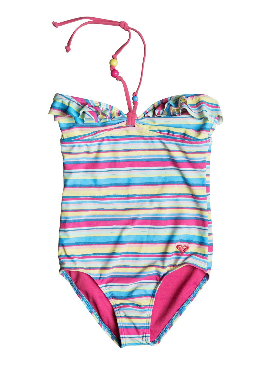 roxy, Baby Island Tiles One-Piece Swimsuit, SWIM ISLAND STRIPES (gck3)