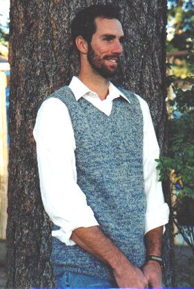 Free Crochet Pattern Mens Vest : free crochet vest patterns Mens sweater patterns ...
